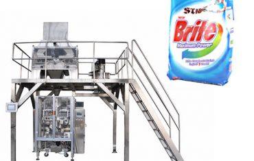 4 päätä lineaarinen pesukone pesuaine jauhe pakkaus kone