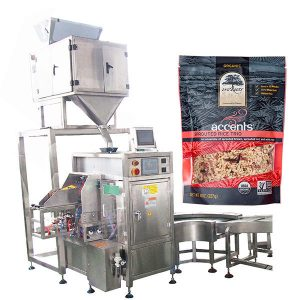Automaattinen täyttö- ja tiivistyskone kahvijauheelle