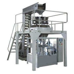 Automaattinen Premade-rakeiden punnitus Tuotantolinjan täyttö ja tiivistys