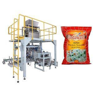 Big Bag Rakeinen Heavy Bag Pakkaus Machine Riisin 10kg-50