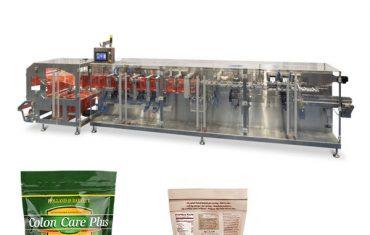 doypack jauhe granula pakkaus vaakasuora muoto täyttö tiiviste kone