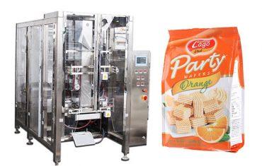 täysi automaattinen ruoka quad tiivistepussi pakkauskone