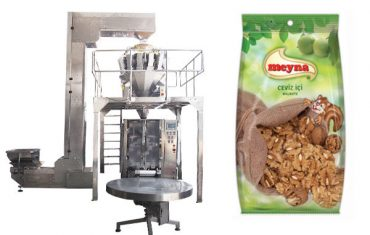 pähkinät pystysuora pakkauskone