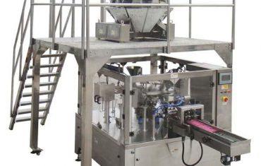 pyörivä automaattinen vetoketju pussin täyttö tiiviste pakkaus kone siemenet pähkinät